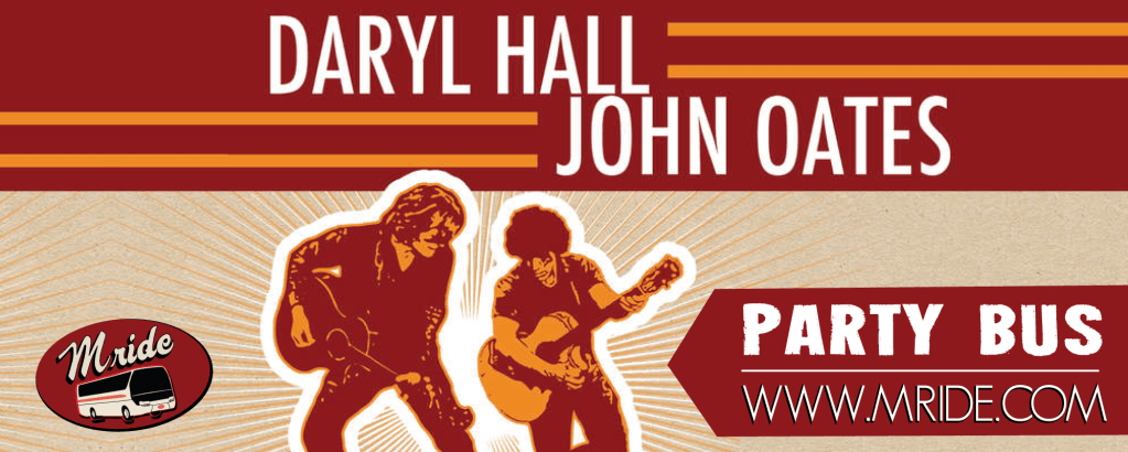 Daryl Hall & John Oates SAP Center Shuttle Bus