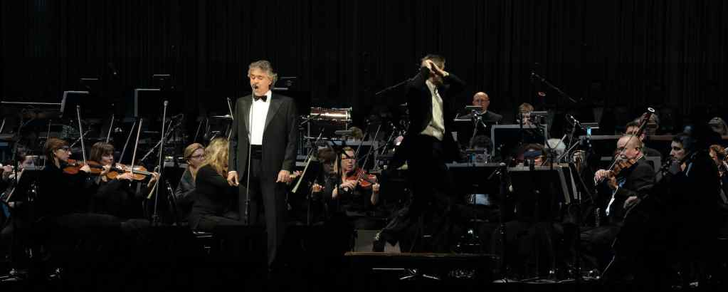 Andrea Bocelli at SAP Center San Jose