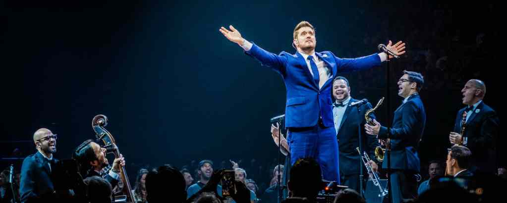 Michael Bublé at Chase Center