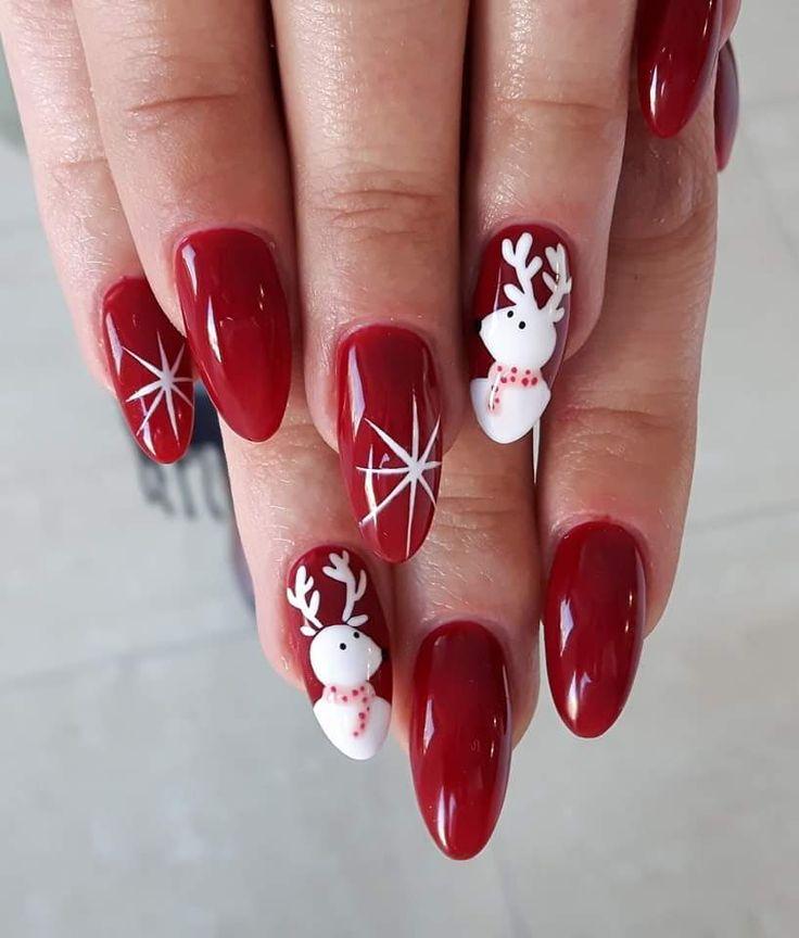 Gel Polish Ideas For Christmas