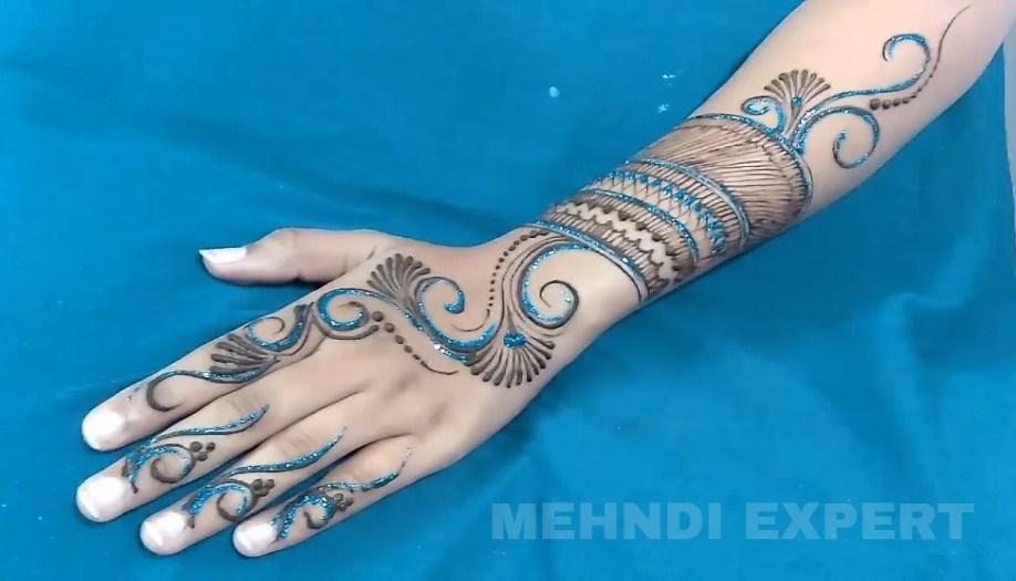 Forearm Styled Latest Mehndi Designs Forearm Eid Mehndi Designs