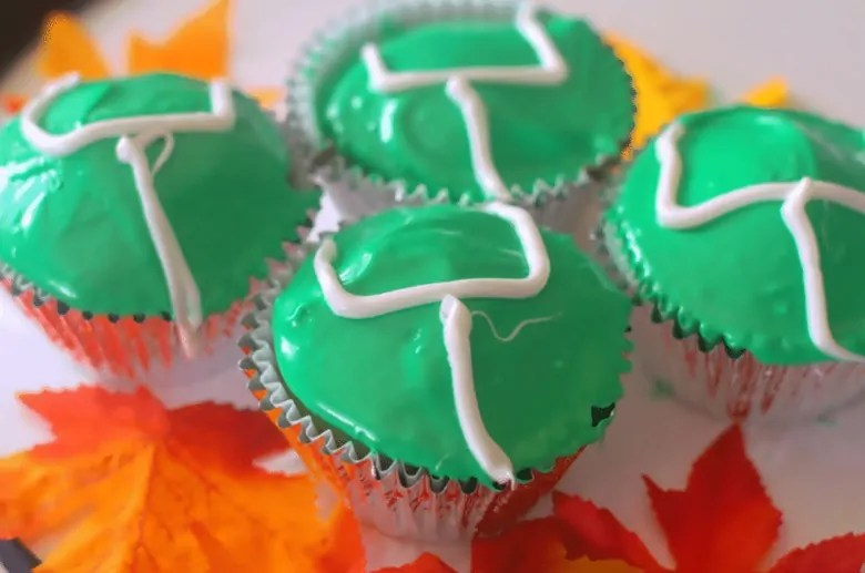 Football Goal Post Cupcake Recipe: An Easy Game Day Food