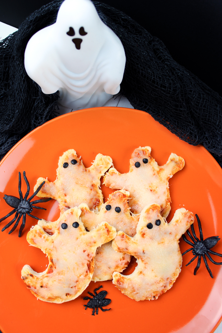 Ghost Mini Pizza