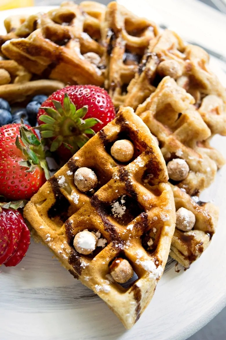Reese's Puffs Cereal Waffles