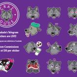 Crazdude's Telegram sticker set