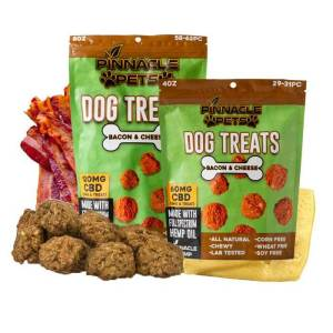 One Sachet of CBD Dog Treats from Pinnacle CBD