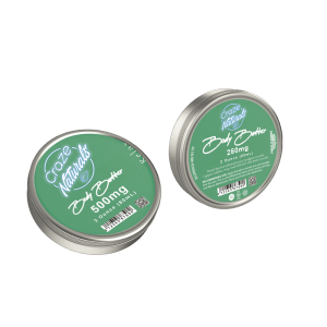 A Container of Relax CBD Body Butter from Craze Naturals