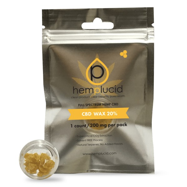 A CBD Wax by Hemplucid