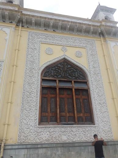 Closer view of the window of Khilwat mubarak