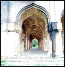 Arch view of Tomb of Abdullah Qutb Shah