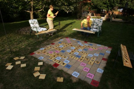 Scrabble Outdoor Game