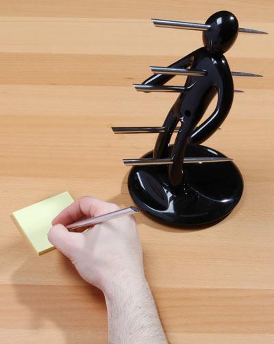 voodoo pen holder black Voodoo Stabbing Pen Holder