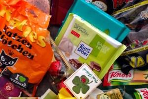Lebensmittel und Produkte