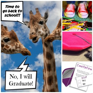 Back to school and graduation