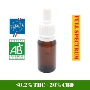 huile cbd 20% full spectrum