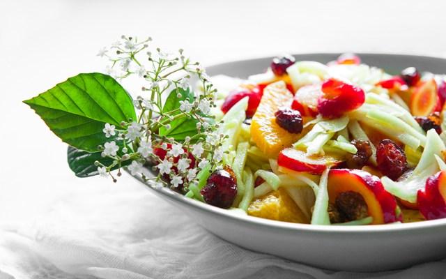 Fennel, Oca and Kolrabi Spring Salad