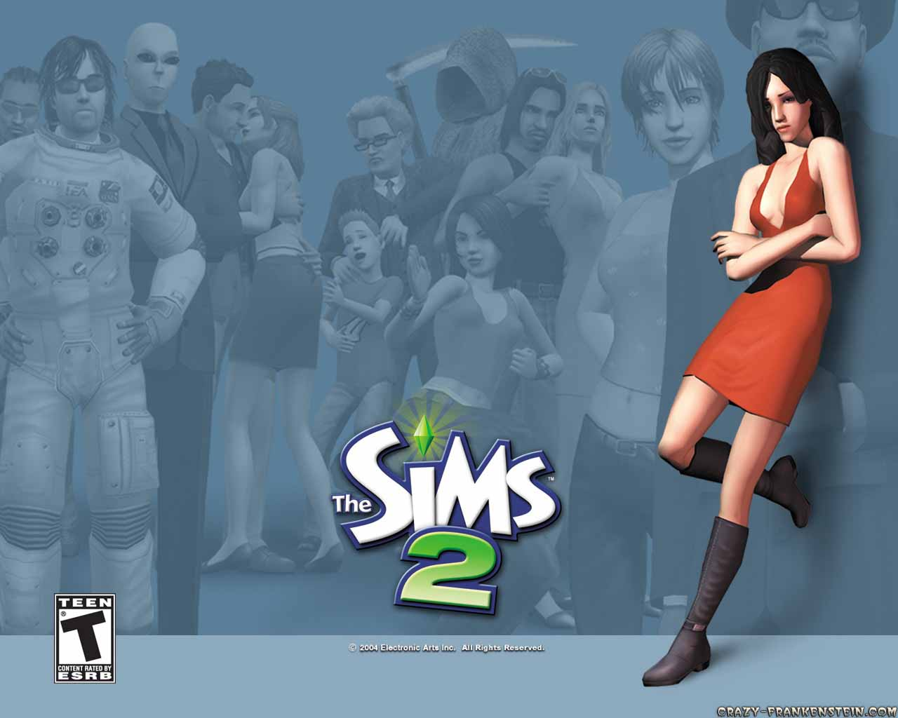 Wallpaper: The Sims 2 - Games wallpaper 2. Resolution: 1280x1024