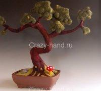 Мастер-класс: дерево бонсай