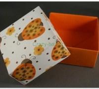 Подарочная коробка оригами своими руками