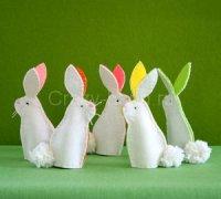 Куклы кролики на пальцы