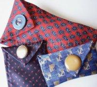 Чехол для очков из галстука своими руками