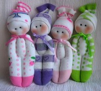 Куклы из носков своими руками