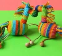 Радужная лошадка для малышей