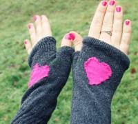 Митенки из носков своими руками
