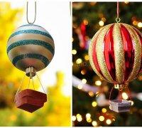 """Новогодняя игрушка """"воздушный шарик"""" своими руками"""