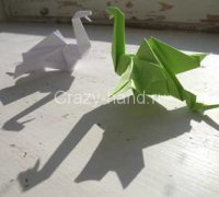 Оригами дракон своими руками