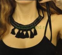 Ожерелье своими руками из кожаного ремня