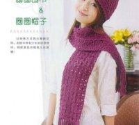 МК: Комплект — шапка и шарф.