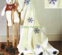 Снежинки - вышивка крестом