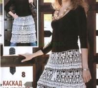 Легкая элегантная юбка