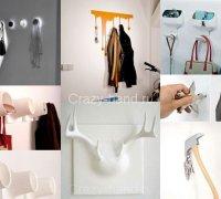 Креативные вешалки для дома и офиса