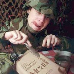 Meal Ready To Eat (MRE) individual meal