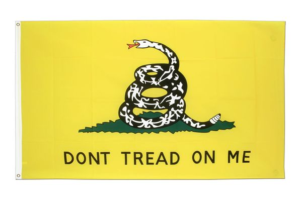 3'x5' Don't Tread on me Flag (Gadsten Flag)