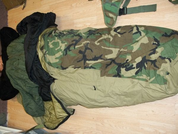 4 Piece Army Sleep System
