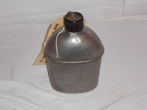 M1942 Stainless Steel Canteen dated 1945 -DENTED