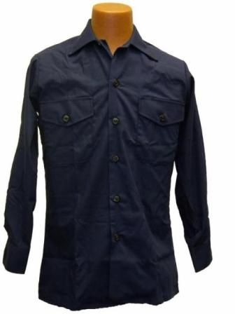 USN BLUE UTILITY SHIRT COLOR #3346
