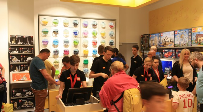 First LEGO Store opens in Poland