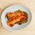Chong-gak Kimchi (Ponytail Radish Kimchi)