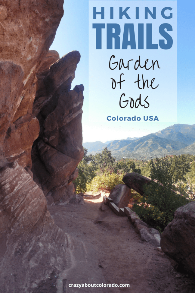 Incredible hiking trails within garden of the gods crazy about colorado for Garden of the gods hiking trails