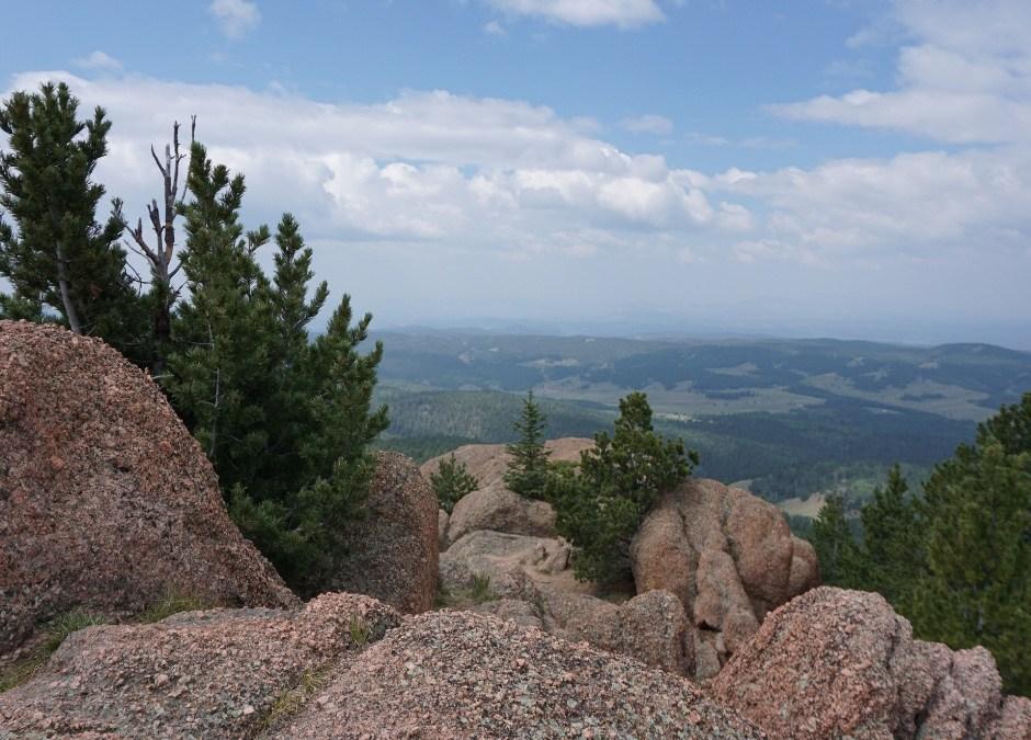 Astonishing Views Hiking Raspberry Mountain