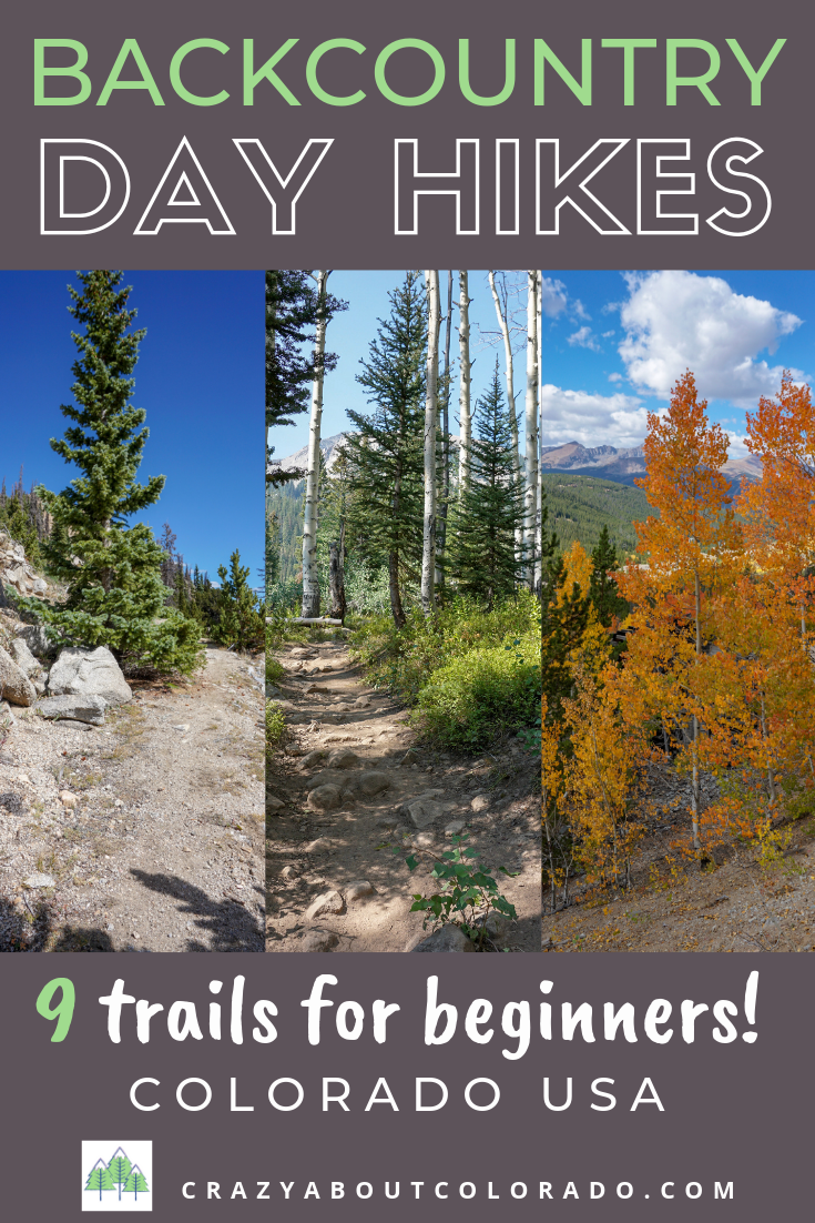 Day Hikes, Hikes for beginners, Colorado hikes, easy trails in Colorado
