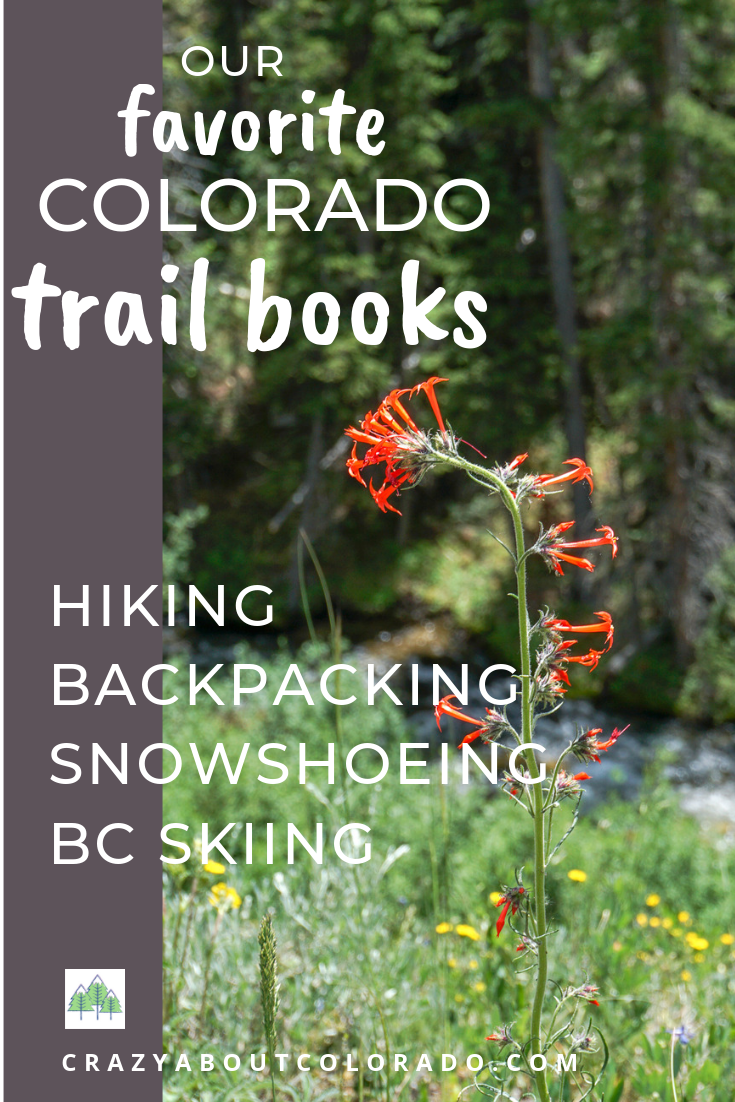 gifts for hiking, gift for backpacking, colorado hikes, colorado use, colorado trails, snowshoe Colorado, trail books, guidebooks, gifts, outdoor lovers,
