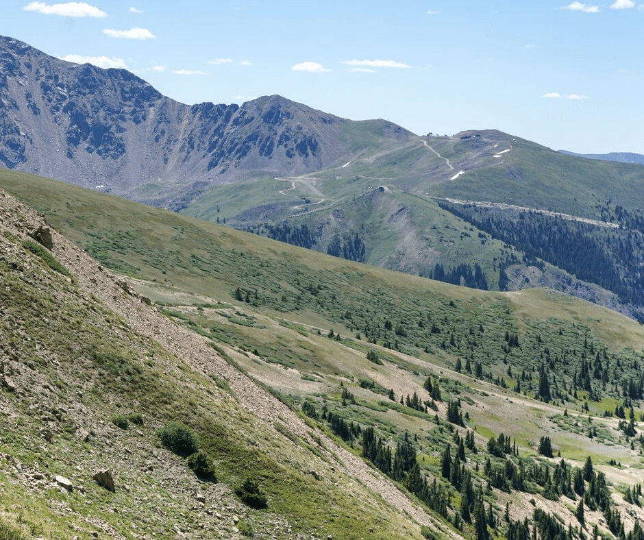 West Ridge Trail, Loveland Ski Area, Loveland Pass, hiking trails, Colorado hikes, Best hikes in Summit County, Keystone, A Basin Ski Resort, Where to hike in Colorado