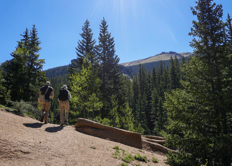 The Crags Trail, a Local Favorite!