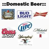 crazy domestic beer