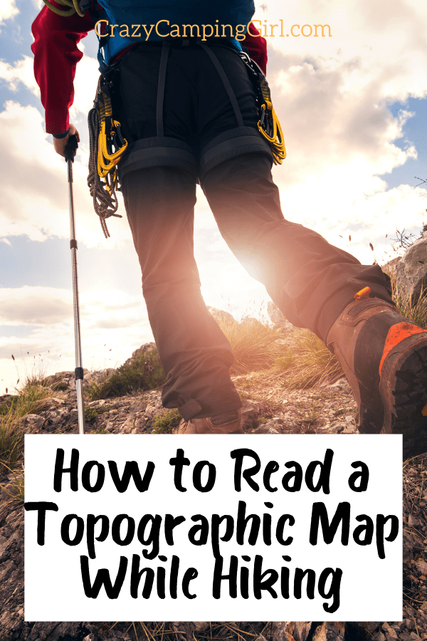 How to Read a Topographic Map While Hiking